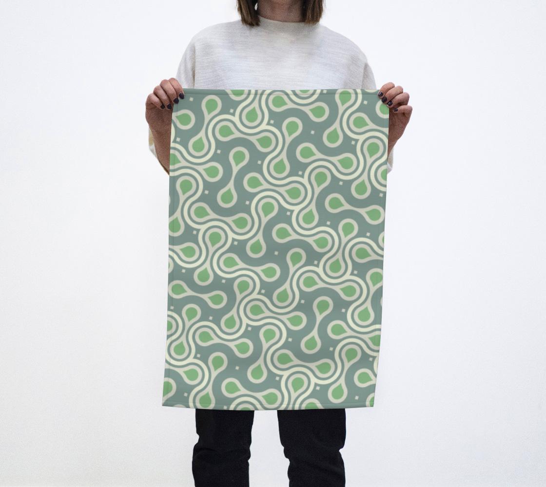 Green pattern aperçu
