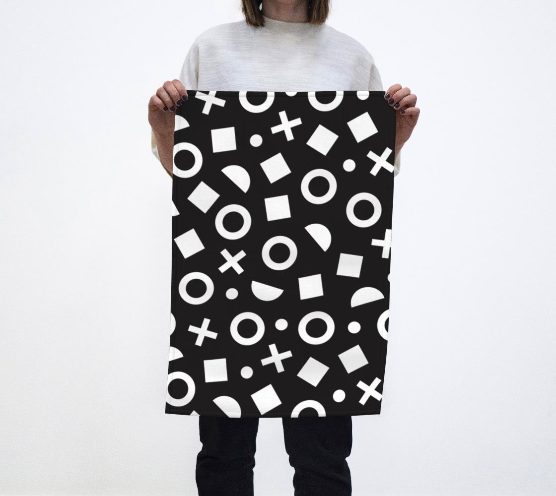 Geo (Illustration) Tea Towel aperçu