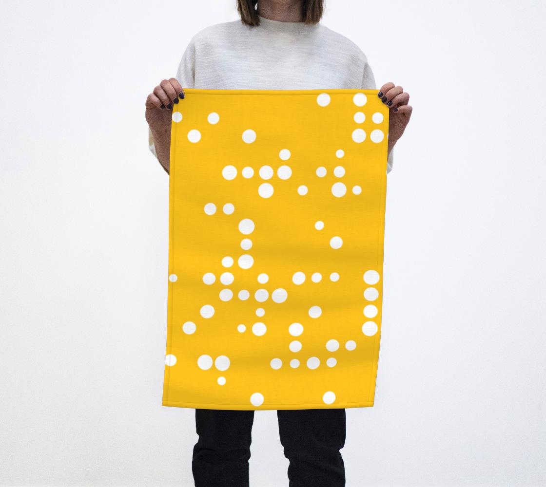 White Dots on Marigold aperçu