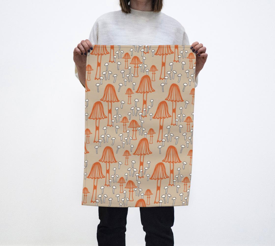 Mushroom Tea Towel aperçu