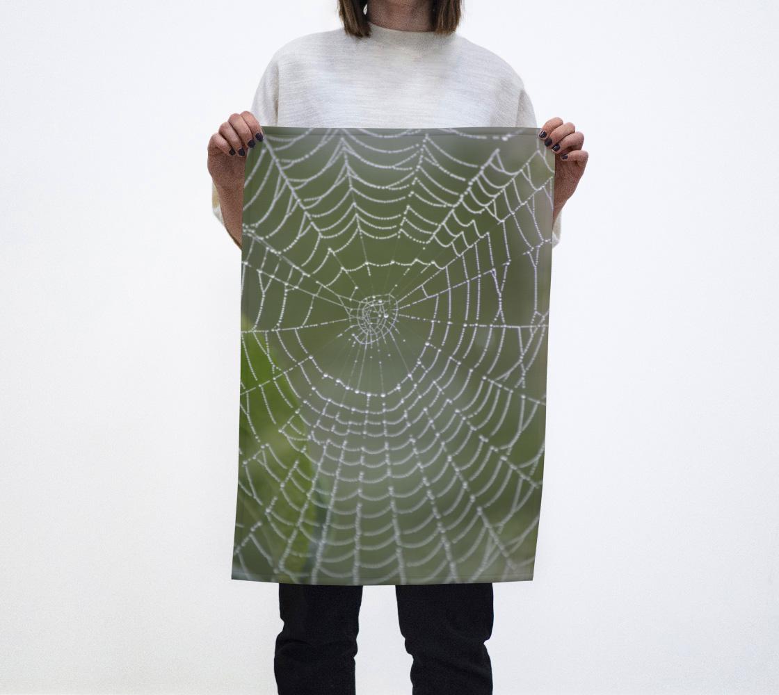 Misty Spiderweb Tea Towel aperçu