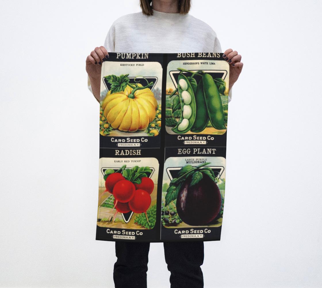 Aperçu de Card Seed Heirloom Packages #2 Tea Towel