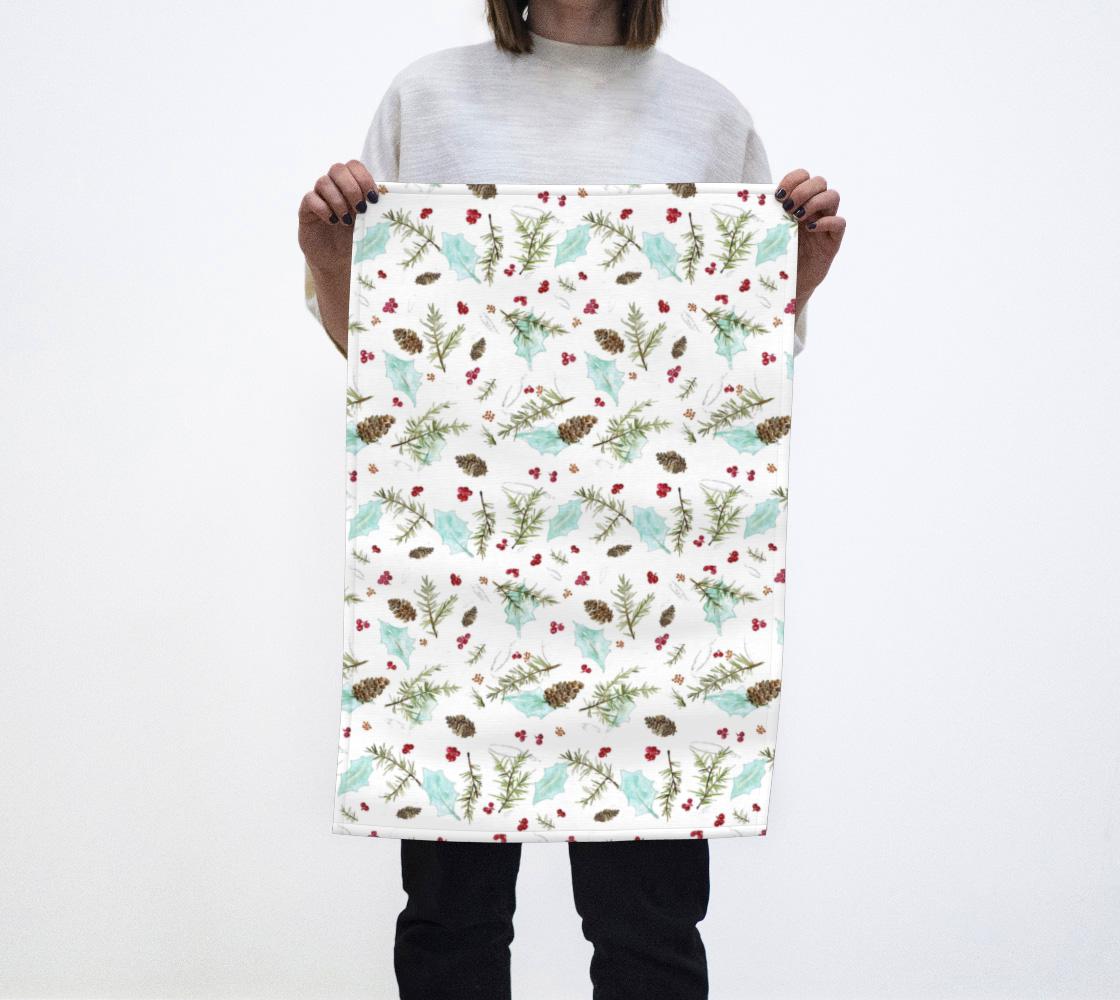 Aperçu de Winter Walk Towel