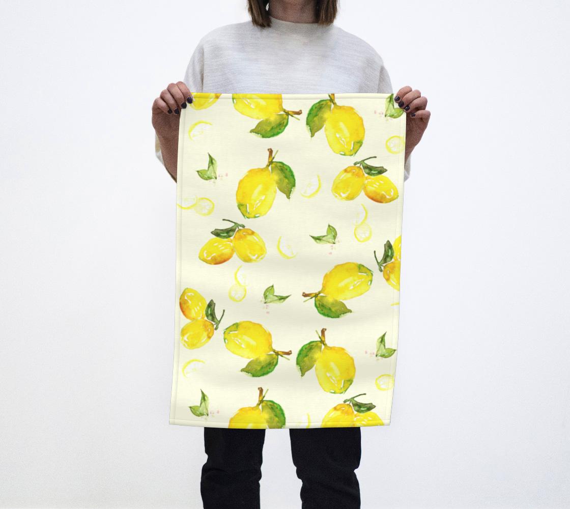 Aperçu de Lemon Tea Towel