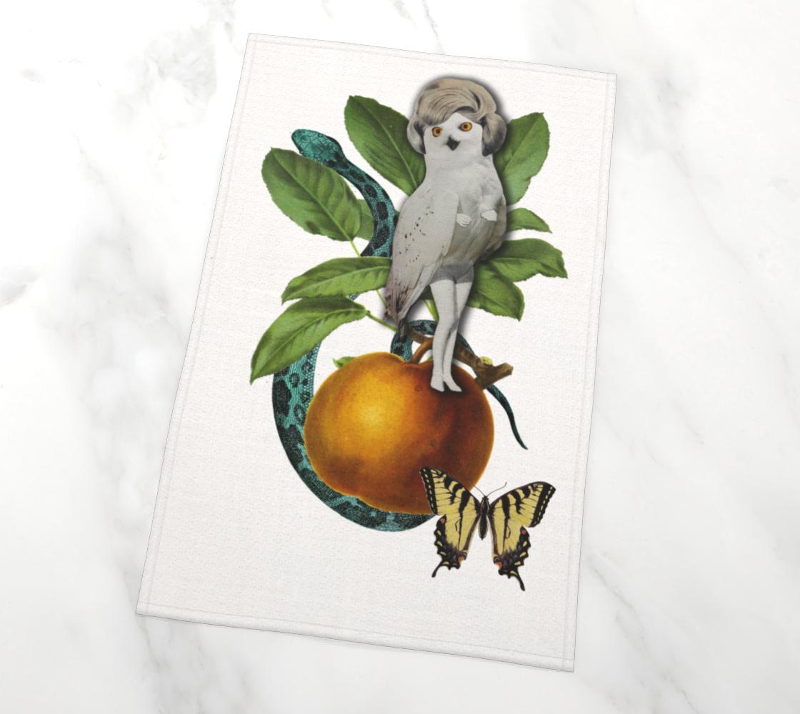 Hoo Hoo tea-towel by Nadina Tandy preview #2