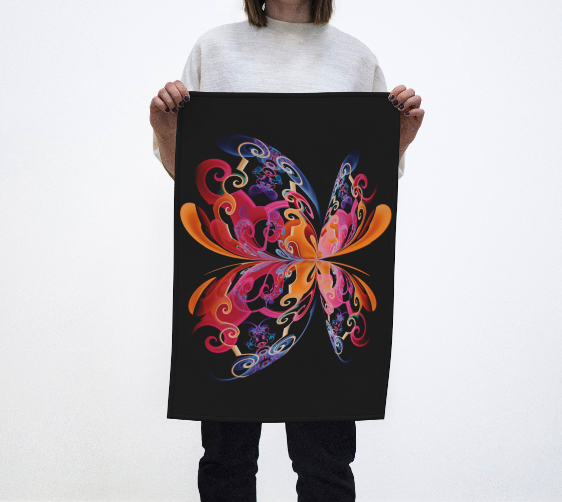 Colorfly Tea Towel preview
