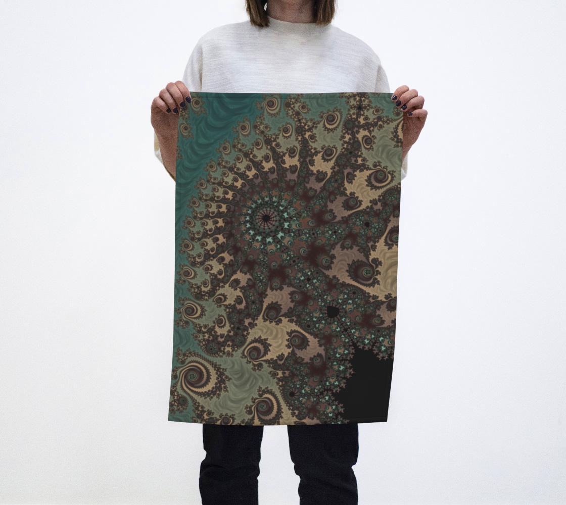 Bohemian Fantasy Tea Towel  preview