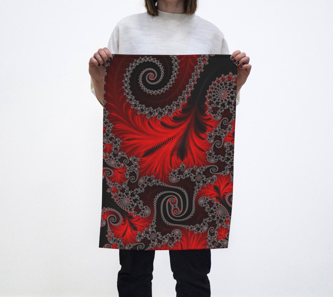 Lava Flow Tea Towel  preview