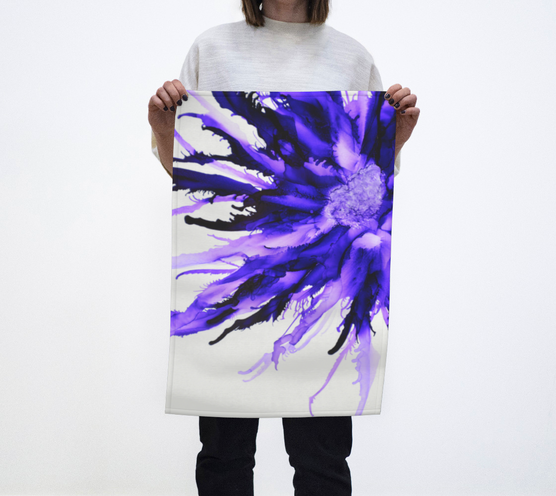 Abstract Purple Flower preview