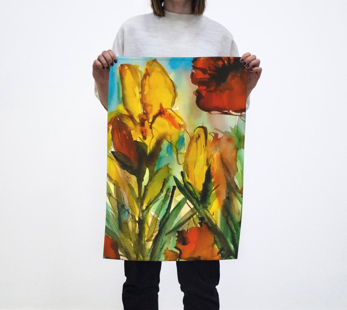 Aperçu de Spring Garden Tea Towel