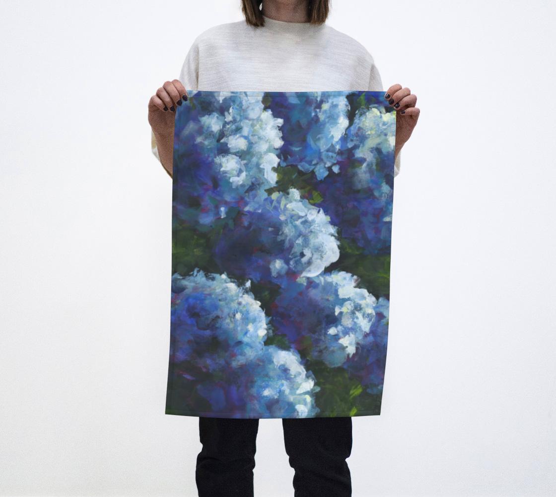 Blue Moon Tea Towel preview