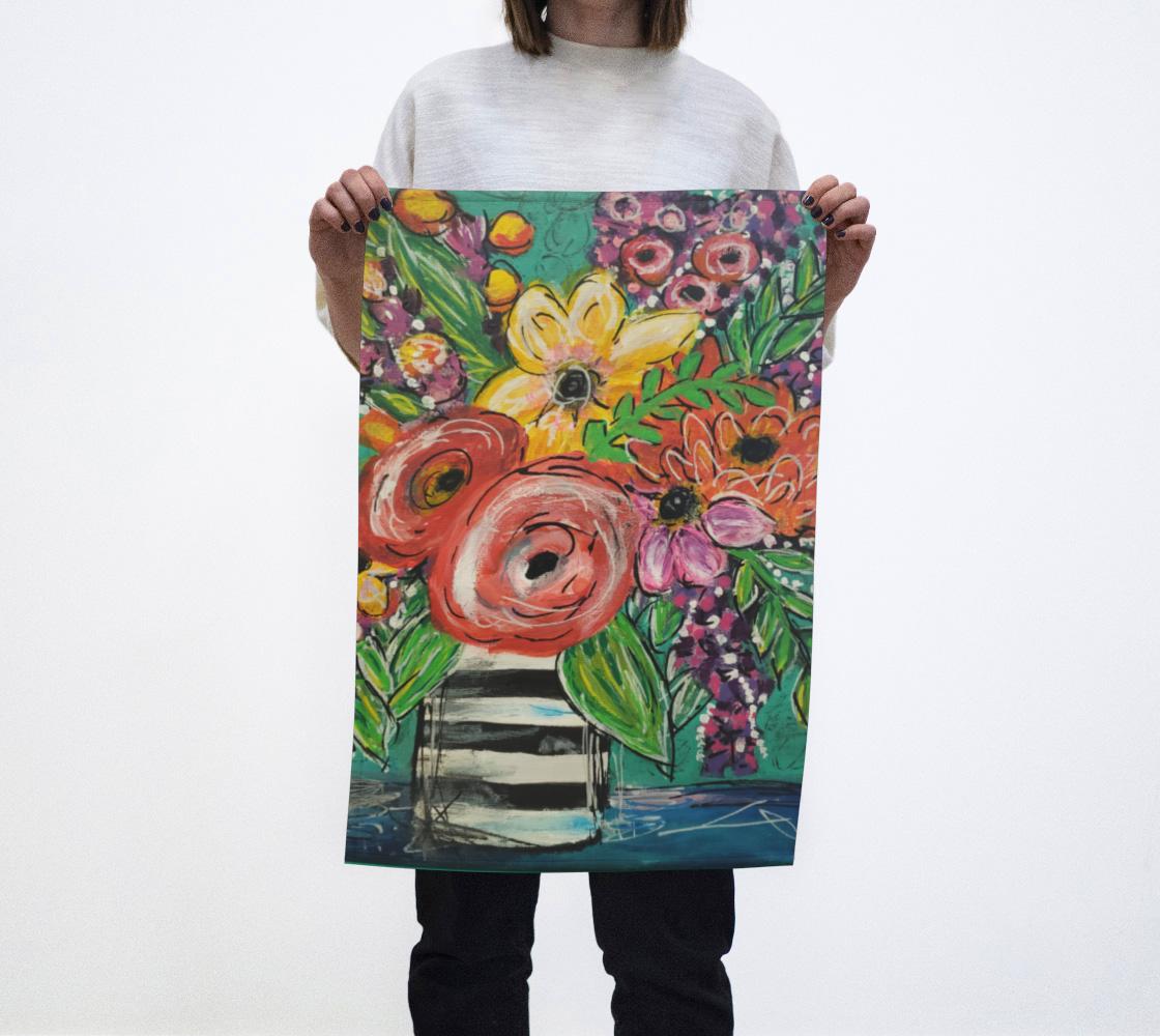 Fun Flower Tea Towel  preview