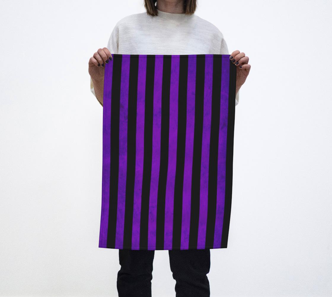 Stripes Collection: Hypnotic Tea Towel aperçu