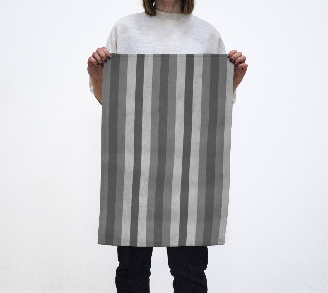Stripes Collection: Fifty Shades Tea Towel aperçu