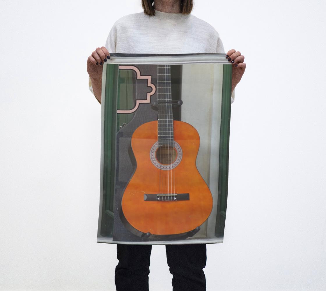 Tea towel Guitar 2  aperçu
