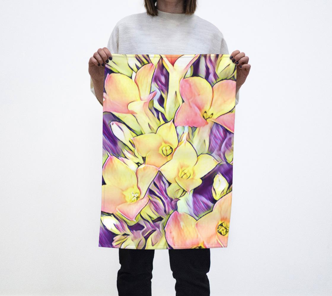 Yellow Lilly Flower aperçu