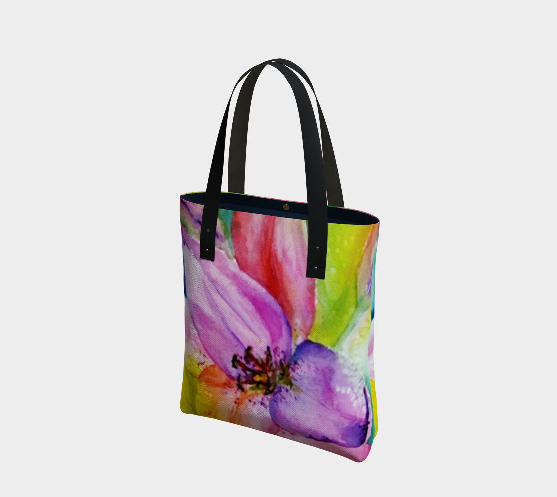 Awesome Neon Tote Bag preview
