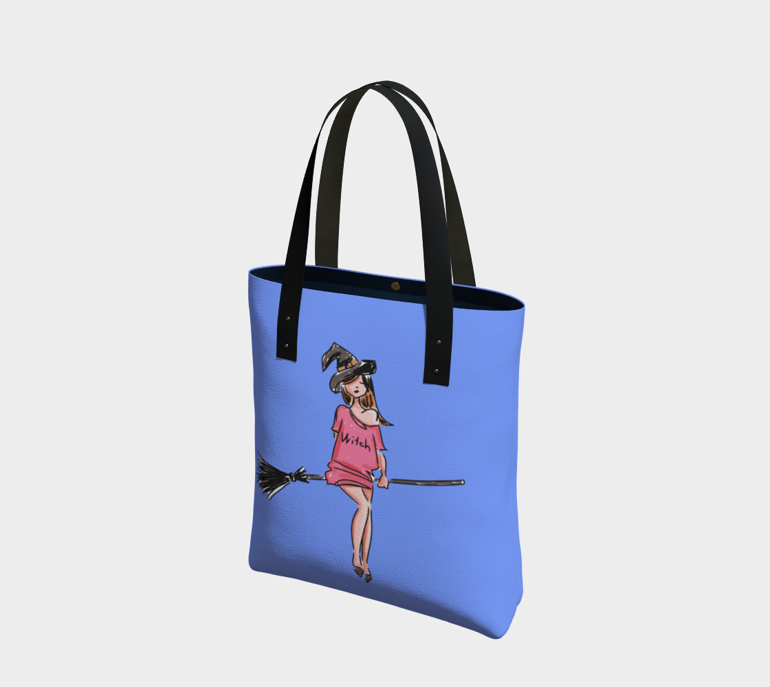 Modern Witch Tote Bag preview