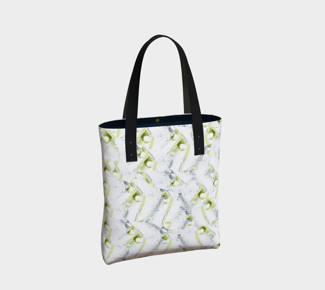 Spring Showers Tote Bag by Laura Davis Art Studio preview #2