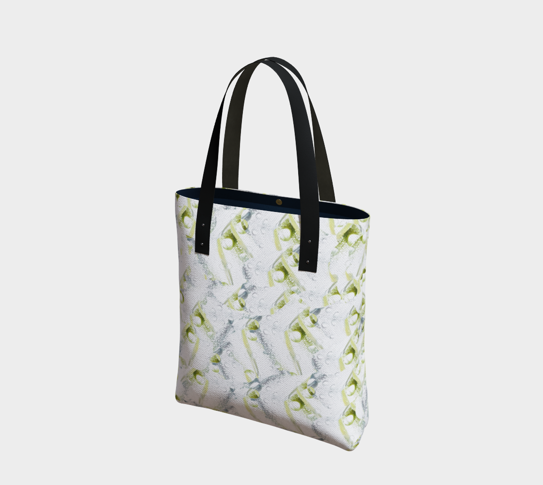 Spring Showers Tote Bag by Laura Davis Art Studio preview