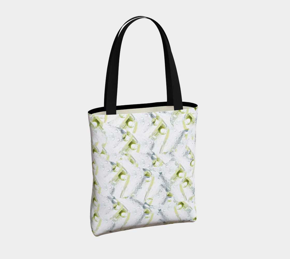 Spring Showers Tote Bag by Laura Davis Art Studio preview #4