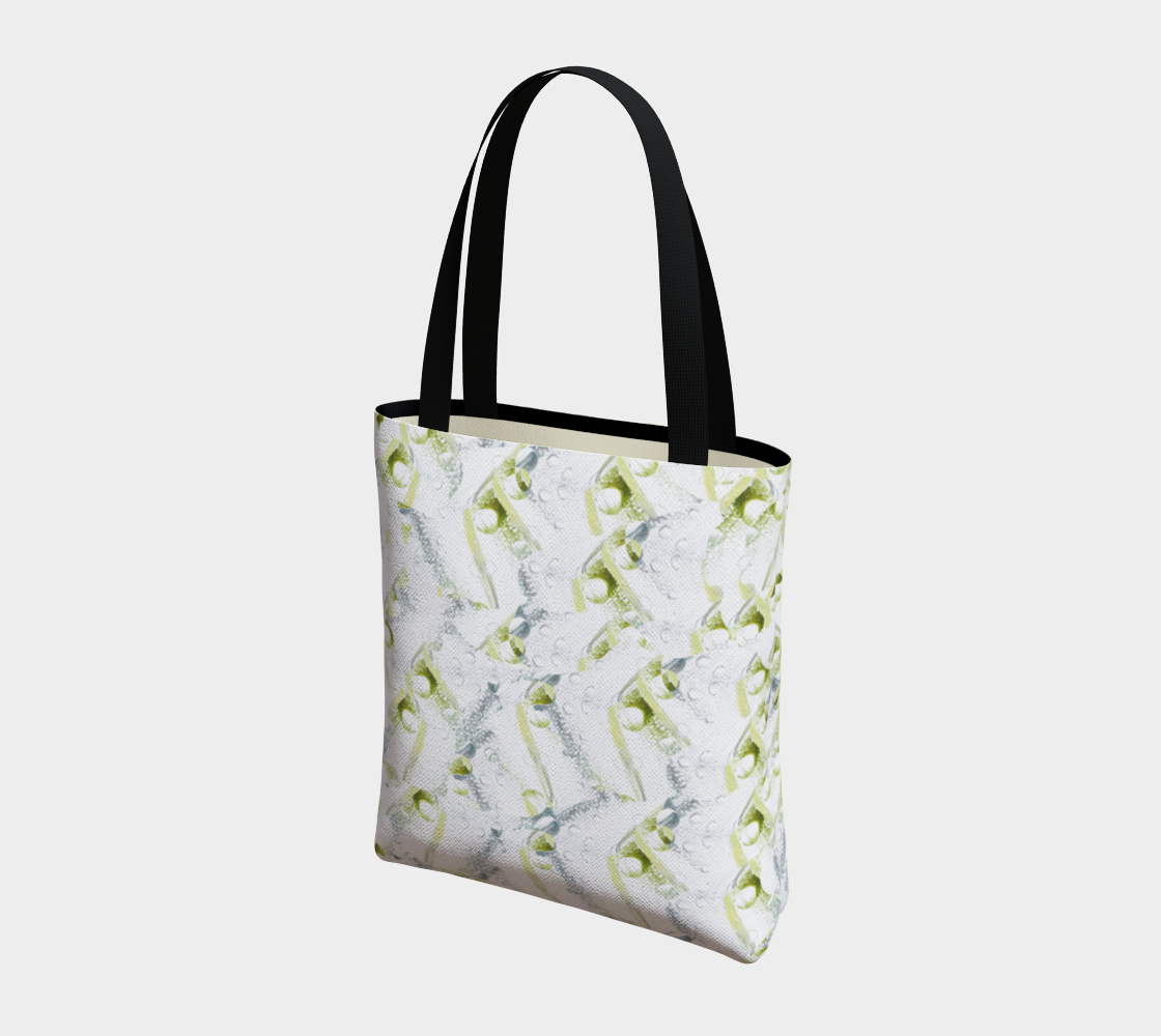 Spring Showers Tote Bag by Laura Davis Art Studio preview #3