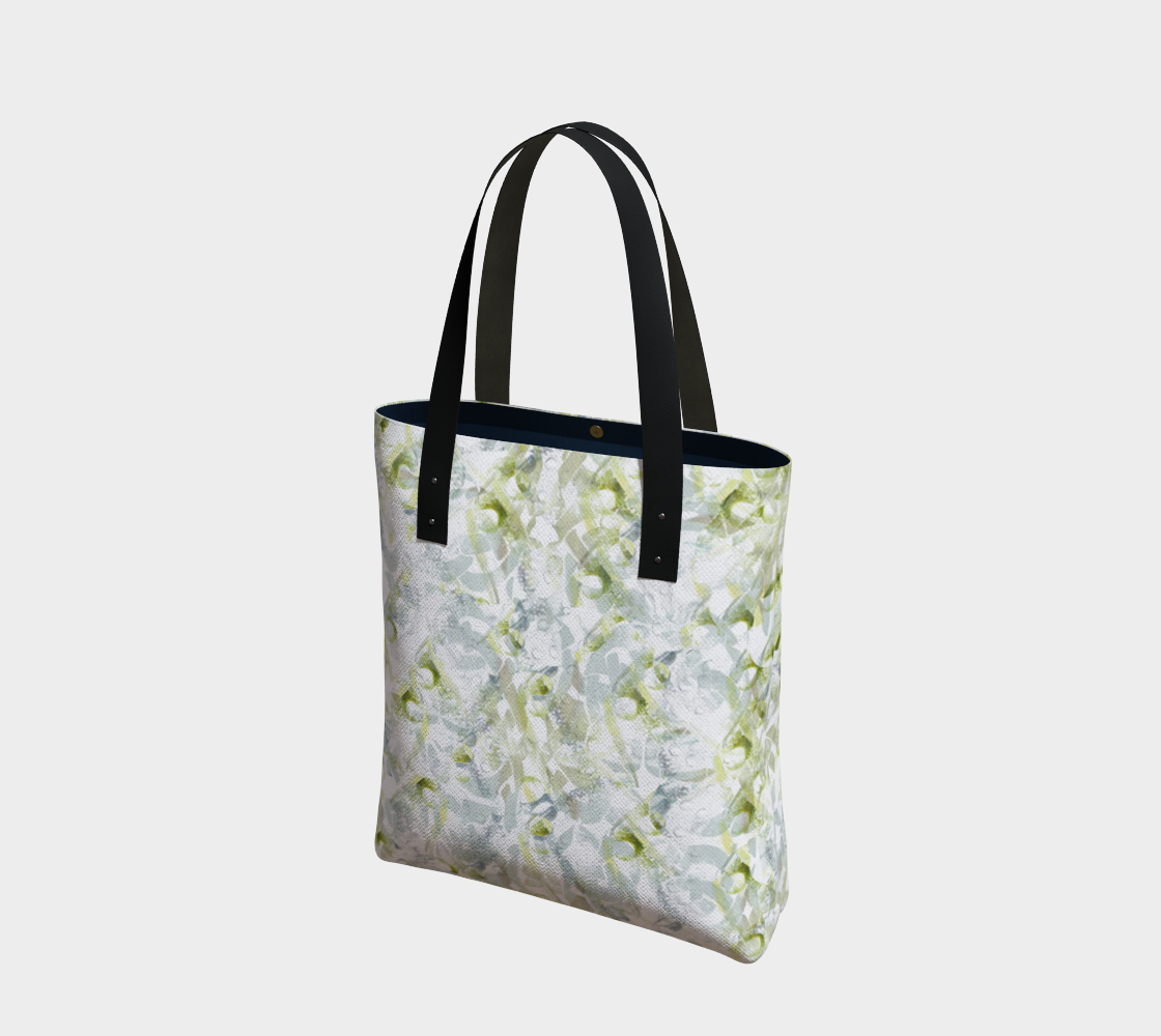 Spring Equinox Tote Bag by Laura Davis Art Studio preview