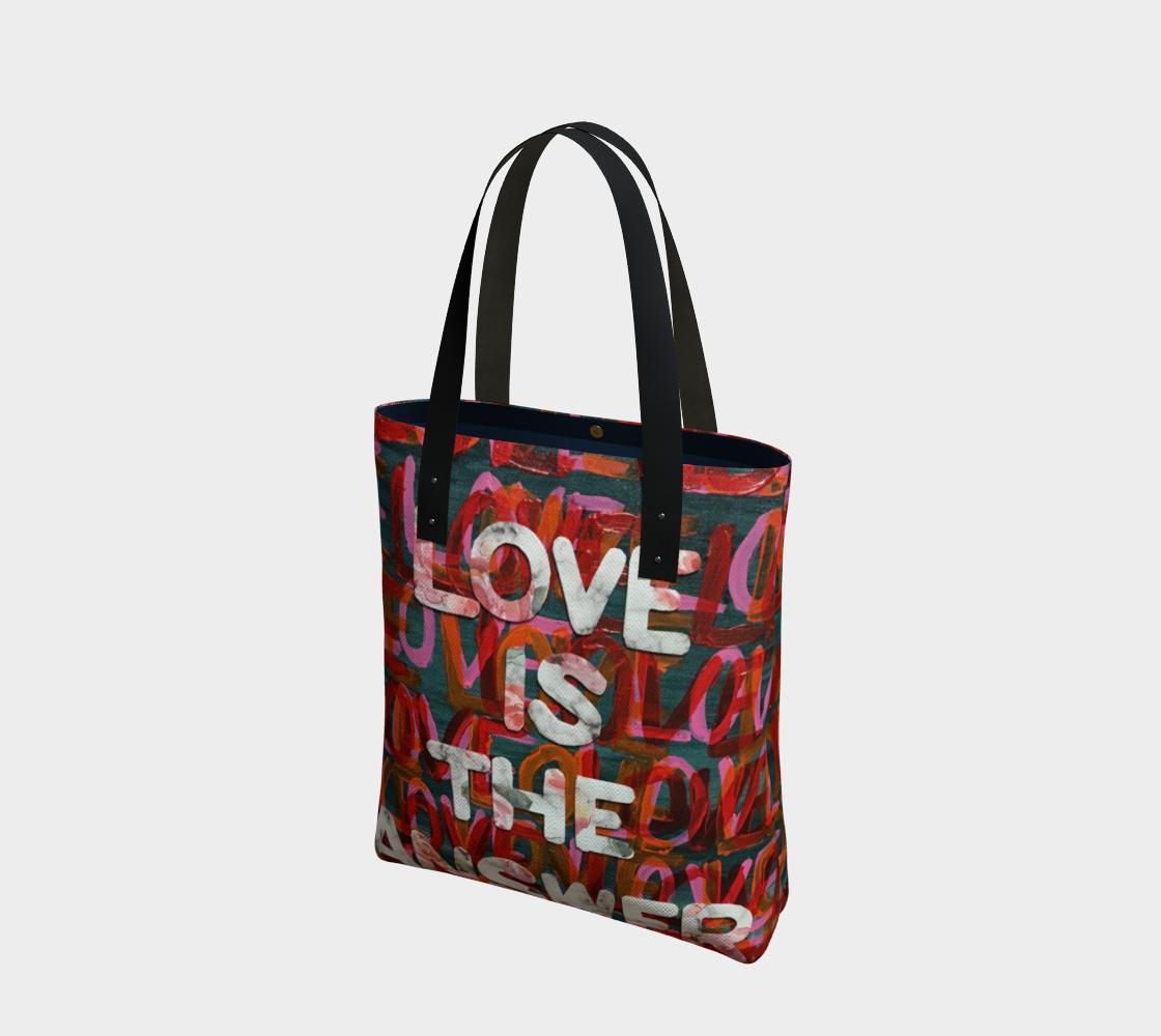 Aperçu de Lauren Love is the Answer Tote Bag