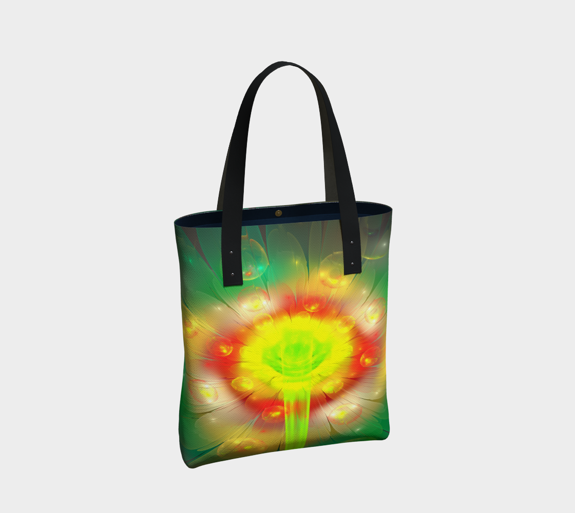 Yellow Flower Tote preview #2