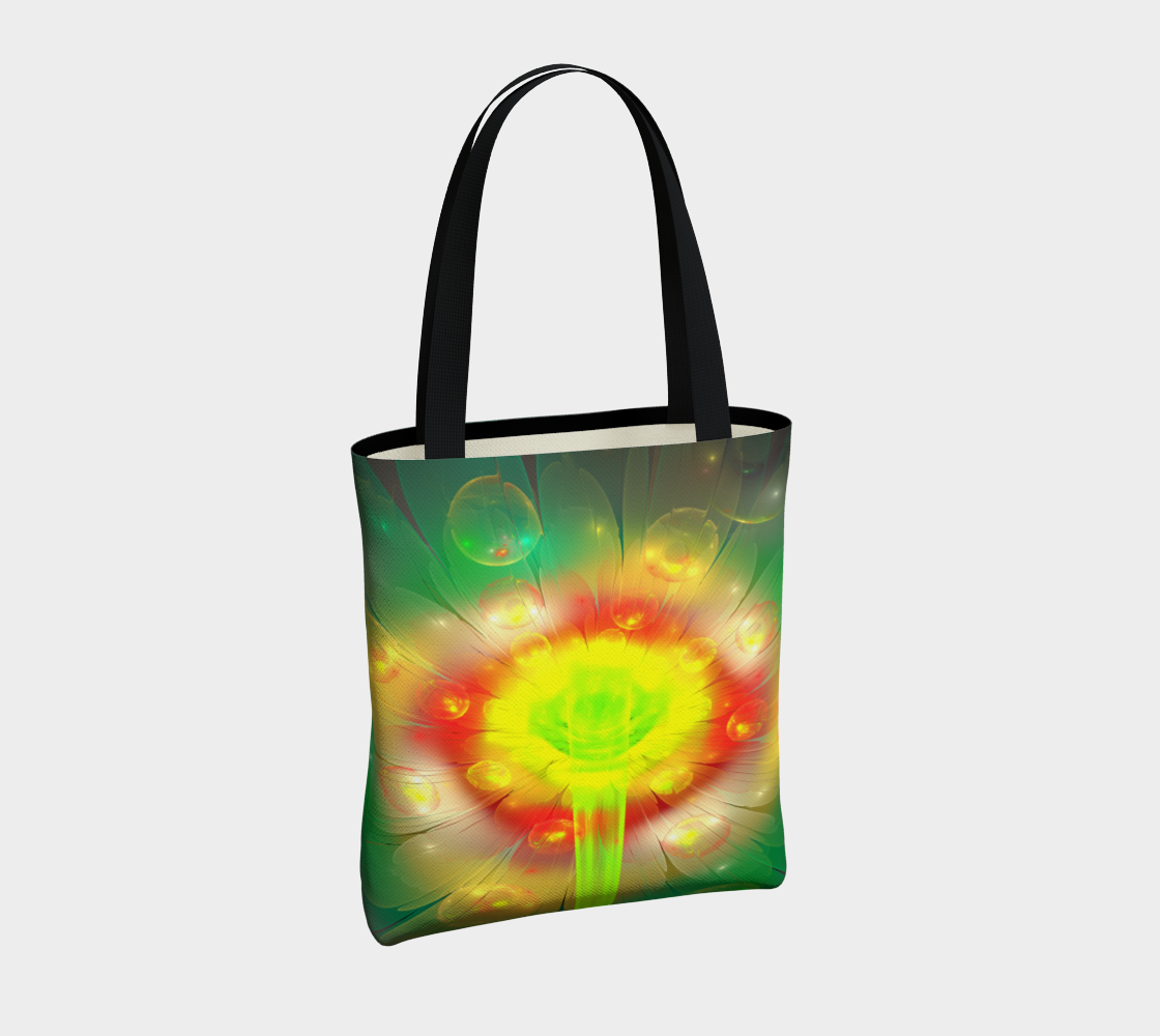 Yellow Flower Tote preview #4