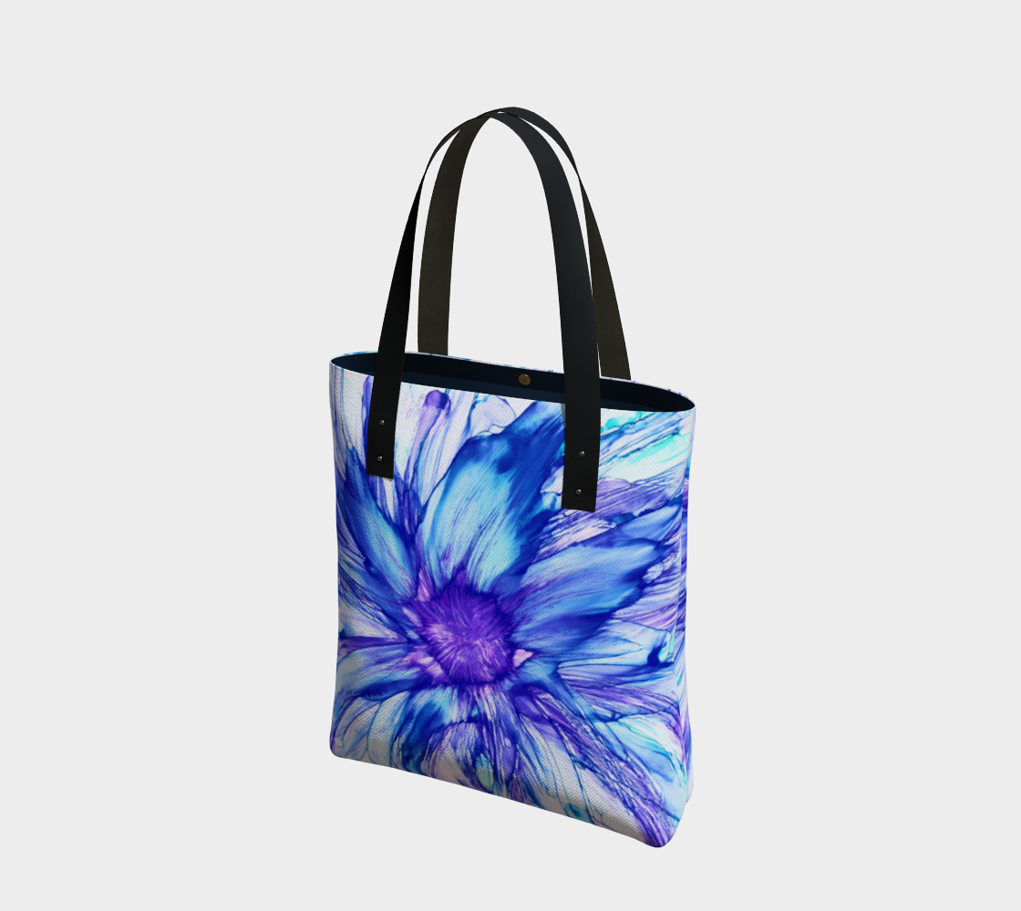 Abstract Blue Daisy preview