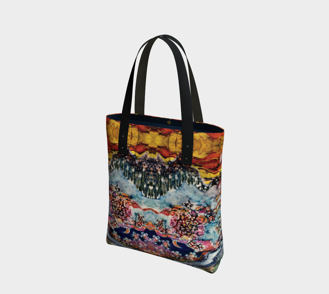 Earth Water Sky Tote Bag preview