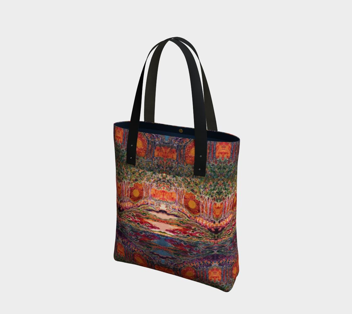 Awaken Day & Night Tote Bag preview
