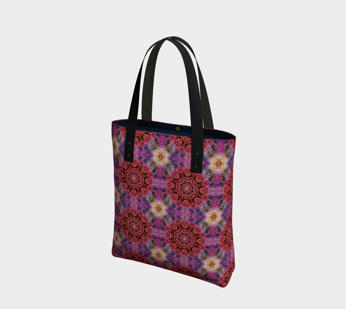 Awakening Mandala Beach Tote preview