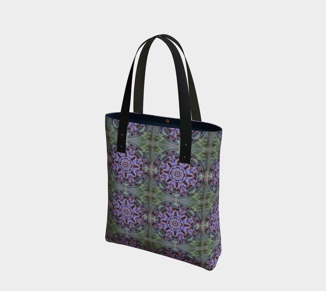 Manifestation Magic Mandala Beach Tote preview