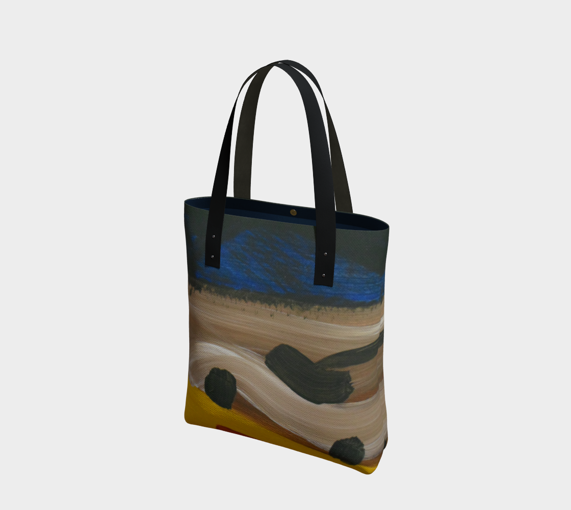 Landforms Abstract Tote Bag preview