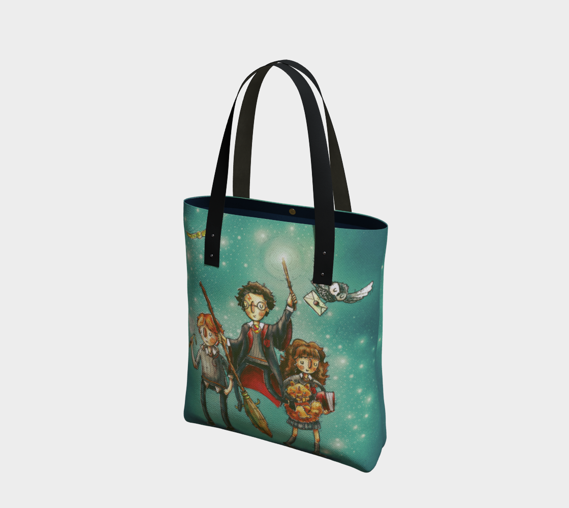 Harry Potter: Golden Trio Tote Bag preview