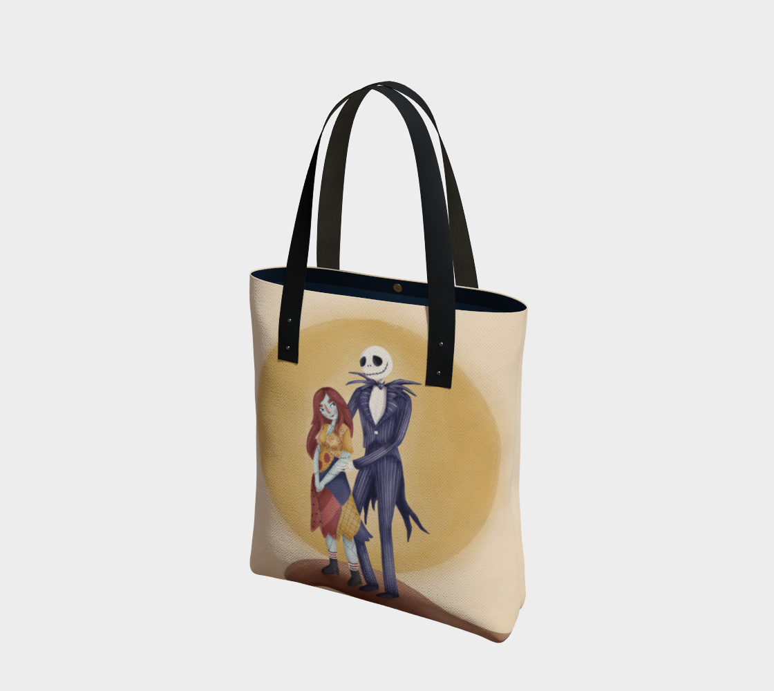 Jack & Sally: Nightmare Before Christmas Tote preview