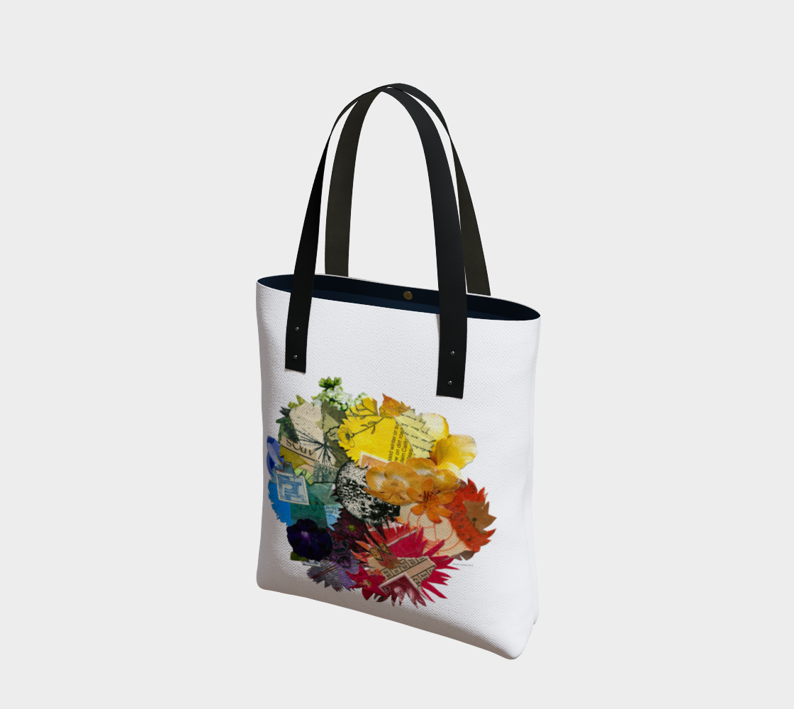 Colour Wheel tote bag preview