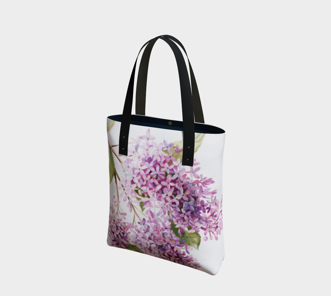 Lilac Tote preview