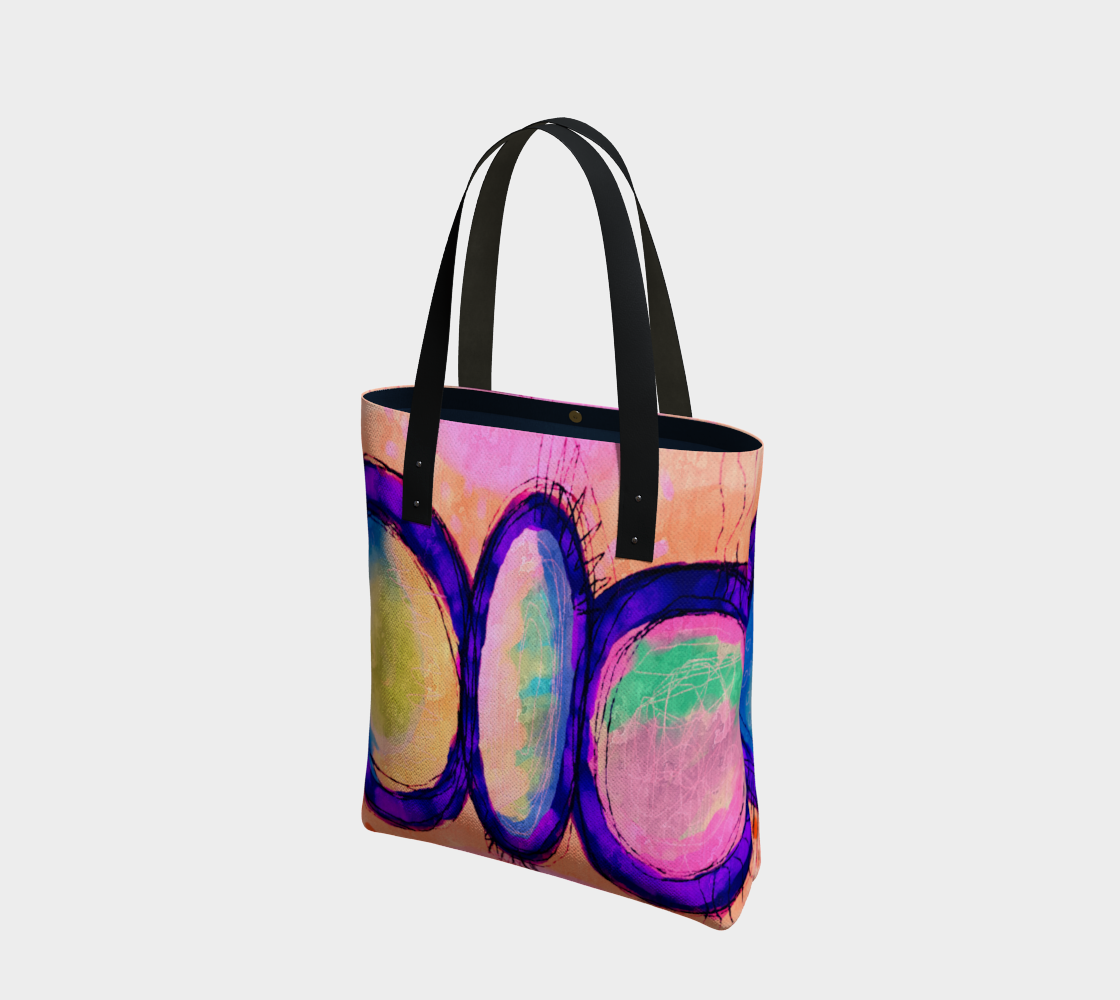 Aperçu de Original Abstract Art Shoulder Bag
