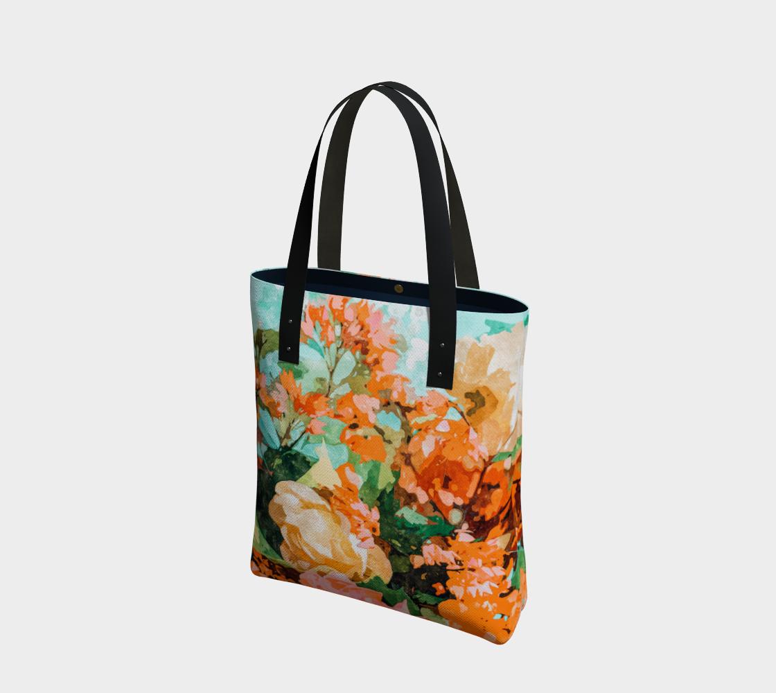 Blush Garden Tote Bag aperçu