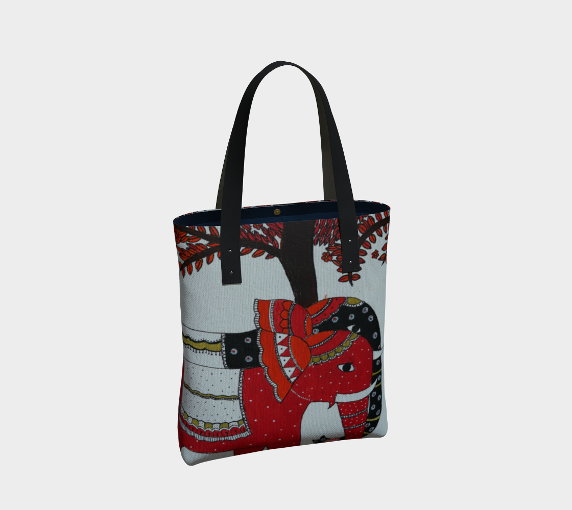 Elephant Couple tote preview #2