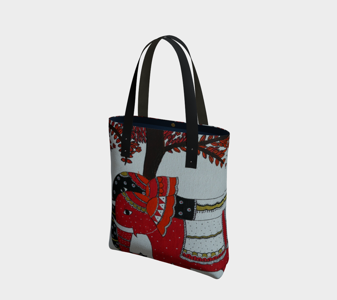 Elephant Couple tote preview