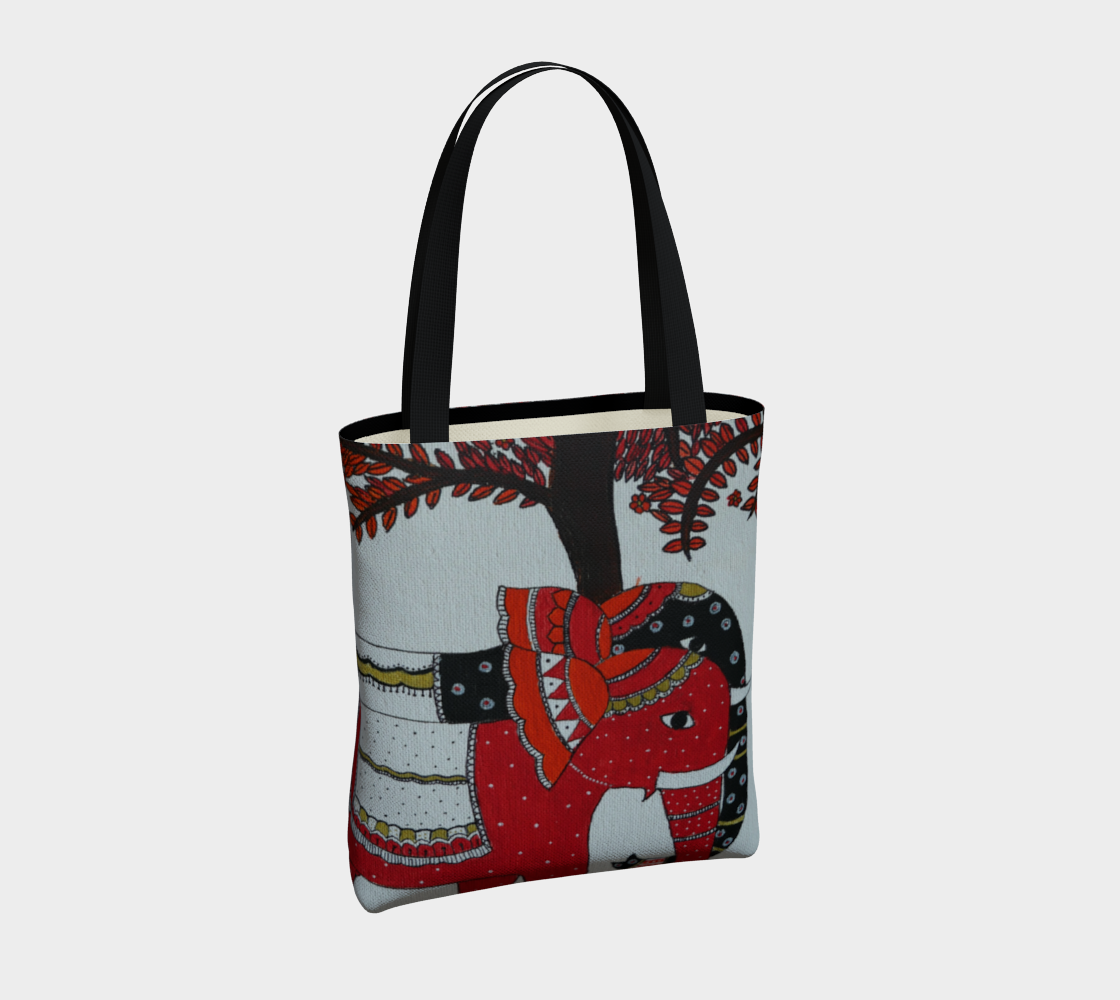Elephant Couple tote preview #4
