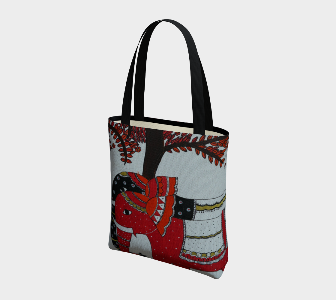 Elephant Couple tote preview #3