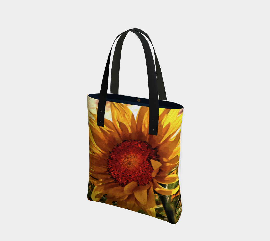 Sunflower Sunrise Tote by Dave Lee preview