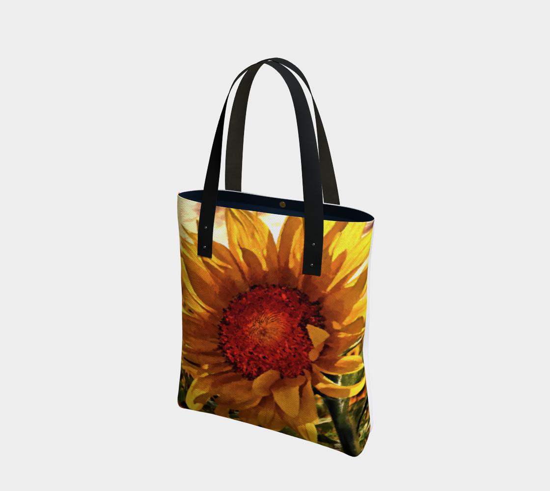 Aperçu de Sunflower Sunrise Tote by Dave Lee