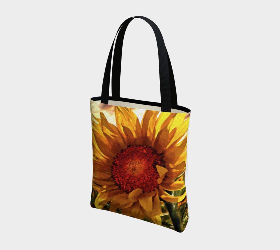 Aperçu de Sunflower Sunrise Tote by Dave Lee #3