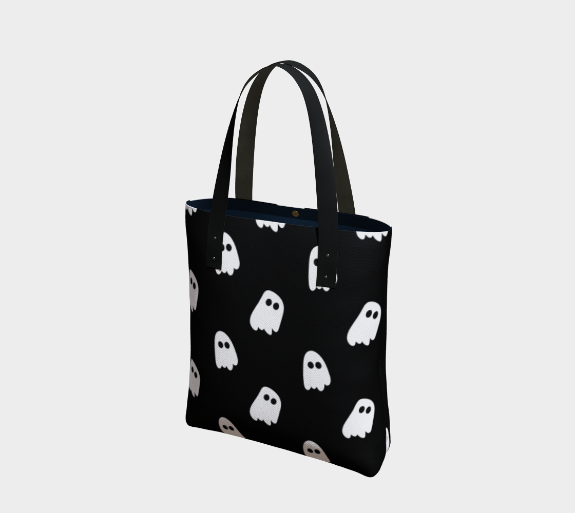 Black Ghosts Tote Bag preview
